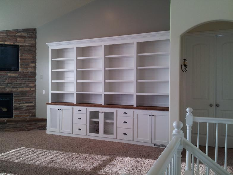 5 Sectional Corner Bookcase